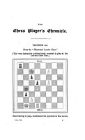The Chess Player s Chronicle PDF