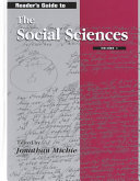 Reader s Guide to the Social Sciences PDF