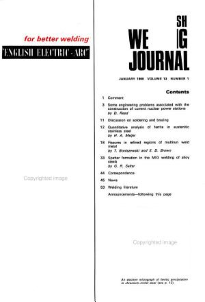 British Welding Journal PDF