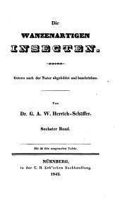 Die wanzenartigen Insecten. 6