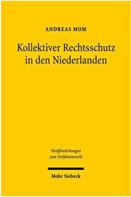 Kollektiver Rechtsschutz in den Niederlanden PDF