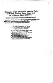 Scriptum Oxoniense doctoris subtilis fratris Joannis Duns Scoti ordinis Minorum super sententias: 2