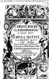Opera mathematica ab auctore revisa et aucta. -Moguntae, Reinh. Eltz 1611-1612