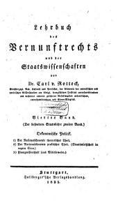 Lehrbuch des Vernunftrechts und der Staatswissenschaften: Band 4