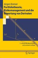Portfoliotheorie  Risikomanagement und die Bewertung von Derivaten PDF