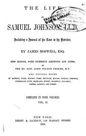 The life of Samuel Johnson, LL. D.: including a journal of his tour to the Hebrides, Volume 2