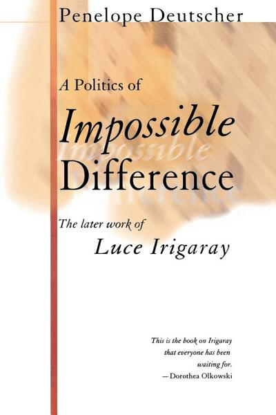 Download A Politics of Impossible Difference Book