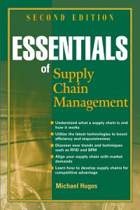 Essentials of Supply Chain Management PDF