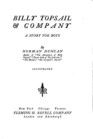 Billy Topsail   Company PDF