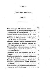 Journal de conchyliologie: comprenant lè́tude des mollusques vivants et fossiles, Volume9