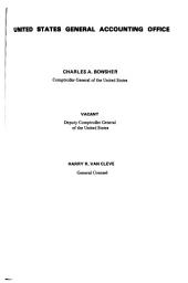 Digests of Unpublished Decisions of the Comptroller General of the United States: Volume 2, Issues 4-7