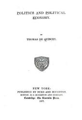 Politics and Political Economy