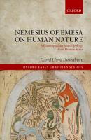 Nemesius of Emesa on Human Nature PDF