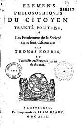 Elemens philosophiques du citoyen...