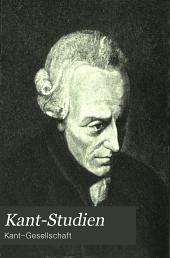 Kant-Studien: Volume 3