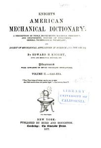 Knight s American Mechanical Dictionary PDF