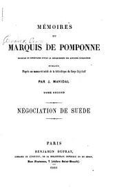Mémoires du marquis de Pomponne: Volume2