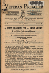 Veteran Preacher: Issue 4