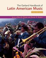 The Garland Handbook of Latin American Music PDF