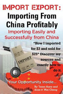 Import Export Importing from China Easily and Successfully PDF