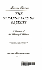 The Strange Life of Objects PDF