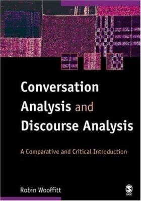 Conversation Analysis and Discourse Analysis PDF