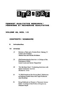 Documentation Sur la Recherche F  ministe Book
