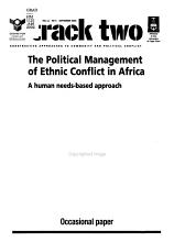 Political Management of Ethnic Conflict in Africa PDF
