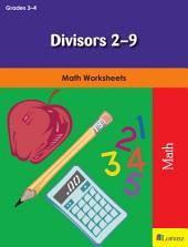 Divisors 2-9: Math Worksheets