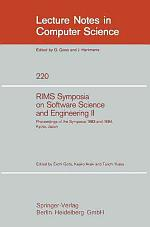 RIMS Symposium on Software Science and Engineering II