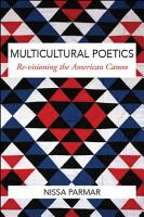 Multicultural Poetics PDF
