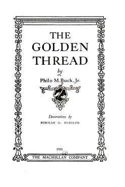 The Golden Thread PDF