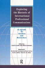 Exploring the Rhetoric of International Professional Communication