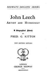 John Leech Artist and Humourist: A Biographical Sketch