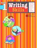 Writing Skills: Grade 1 (Flash Kids Harcourt Family Learning)