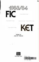 Fiction Writer s Market 1983 84 PDF