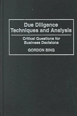 Due Diligence Techniques and Analysis
