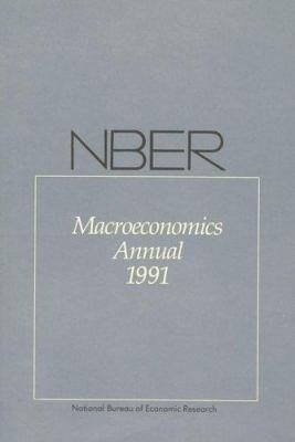 NBER Macroeconomics Annual 1991 PDF