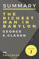 The Richest Man in Babylon Summary PDF
