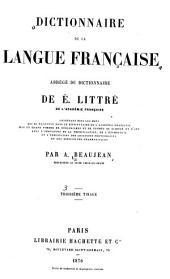 Dictionnaire de la langue française: abrégé du dictionnaire de É. Littré