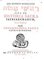 De historia Sacra Patriarcharum exercitationes selectae: Volume 2