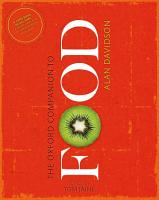 The Oxford Companion to Food PDF