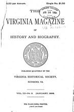 Virginia Magazine of History and Biography PDF