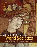 Understanding World Societies, Volume 1