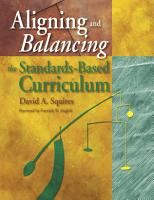 Aligning and Balancing the Standards Based Curriculum PDF