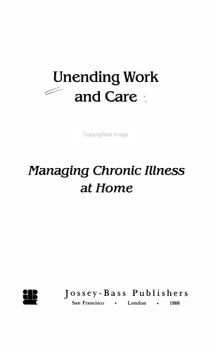Unending Work and Care PDF