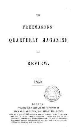 The Freemasons  Quarterly Magazine and Review PDF