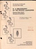A Bibliography of the Potato Leafhopper PDF