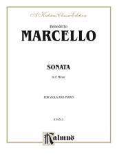 Sonata in E Minor: For Viola and Piano