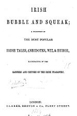 Irish bubble and squeak: a selection of the most popular Irish tales
